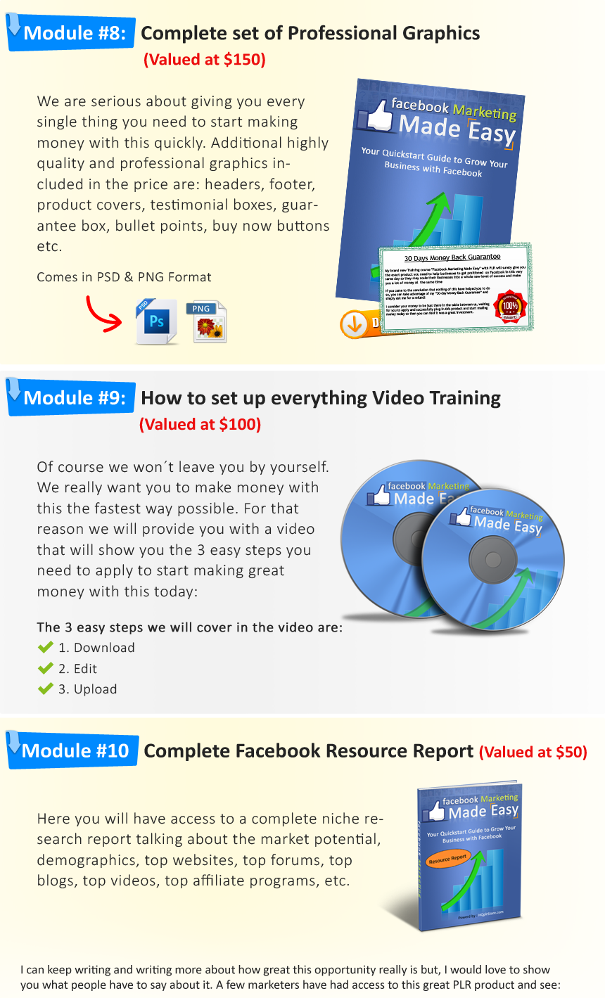 """FB Marketing Success Kit"" Monster PLR Download"