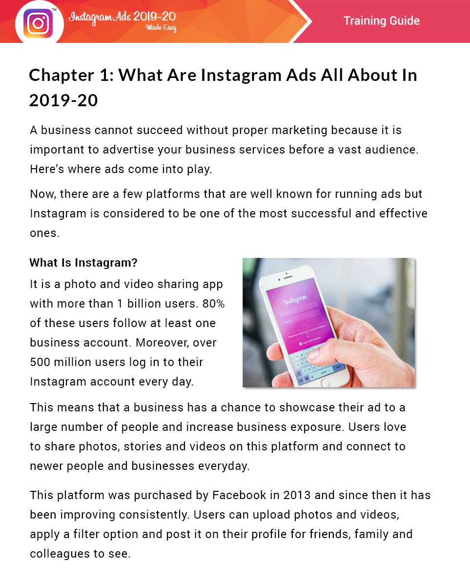 Instagram Ads 2019-20 Success Kit Review - Learn How To Make