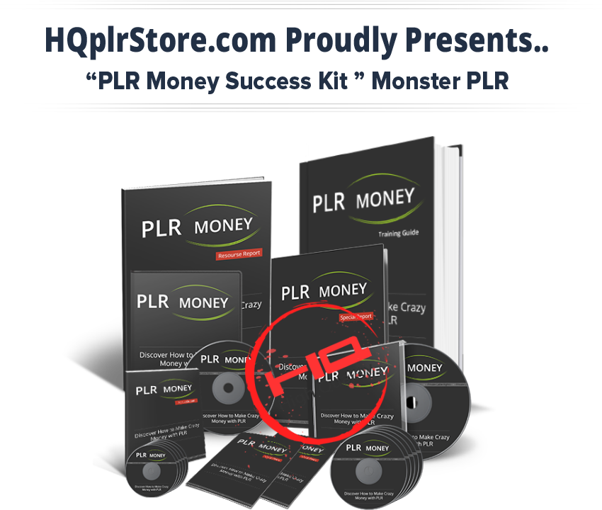 PLR money Success Kit Monster PLR Download